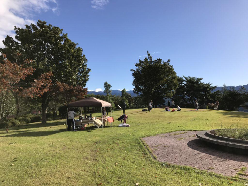 高森町丸山公園 パークヨガ