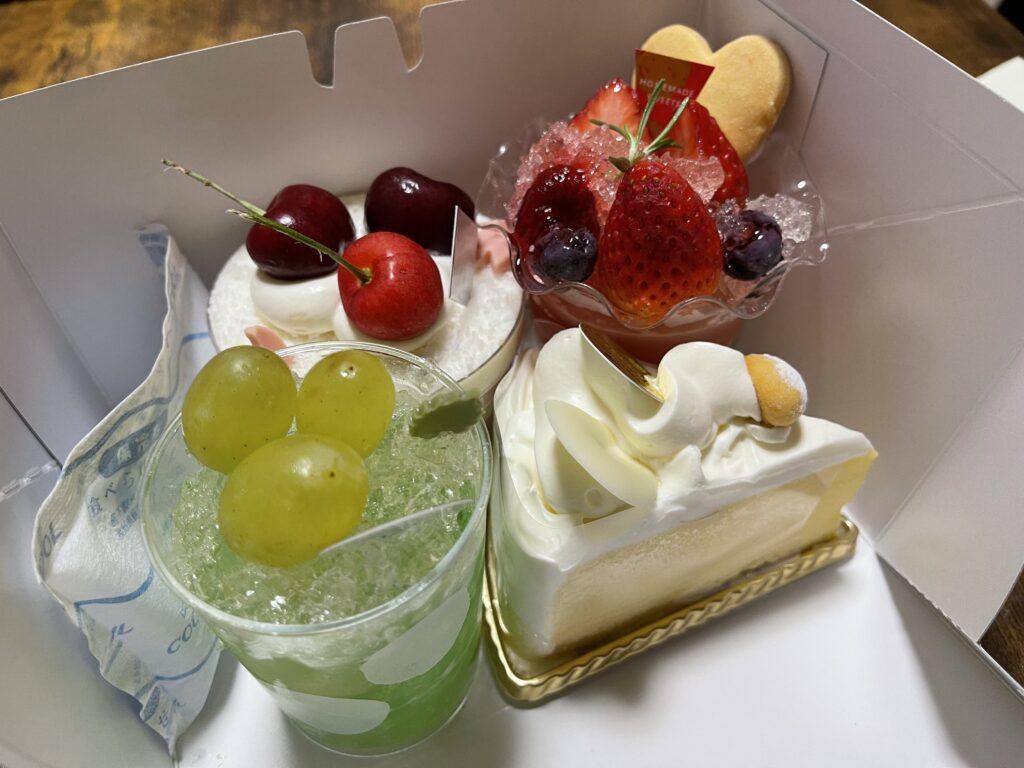 飯田市 はと錦 ケーキ