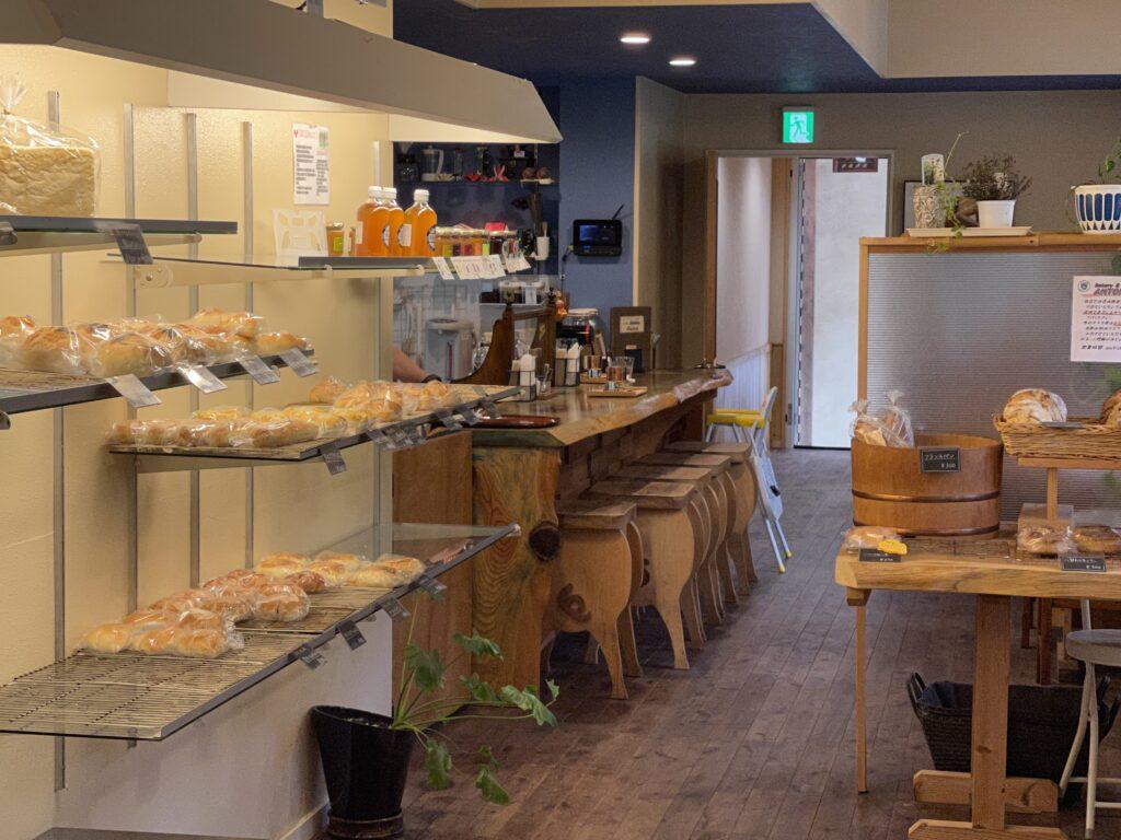 清内路村 ドイツパンの店 アントン